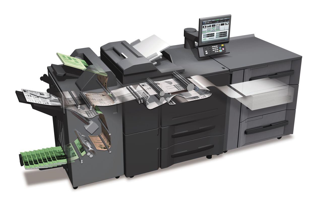 Une gamme de presses numériques